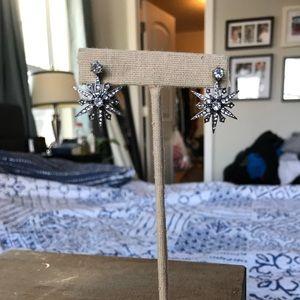 Starburst Convertible Jacket earrings.